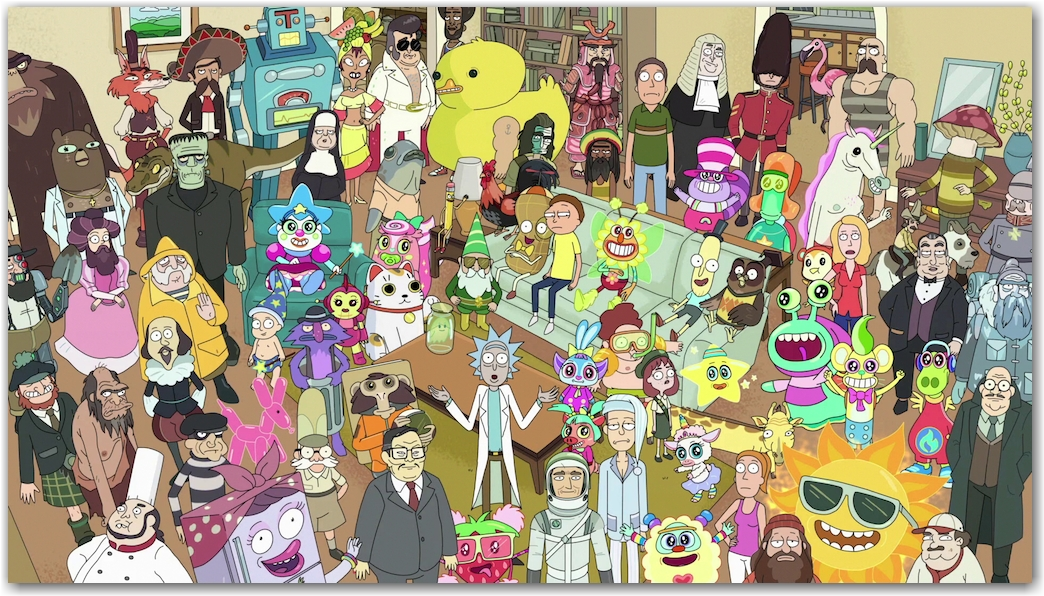 L'épisode TOTAL RICKALL
