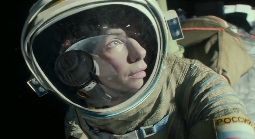 Ryan Stone (Sandra Bullock) : lost in space.
